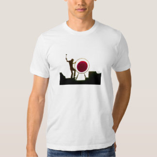Roger and drum tee shirt