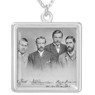 Roger Casement Silver Plated Necklace