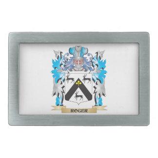 Roger Coat of Arms - Family Crest Belt Buckles