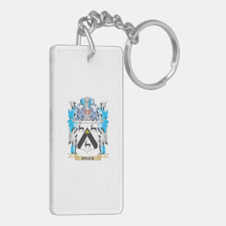 Roger Coat of Arms - Family Crest Acrylic Keychains