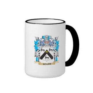 Roger Coat of Arms - Family Crest Mug