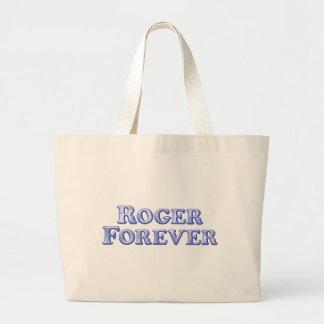 Roger Forever - Basic Jumbo Tote Bag