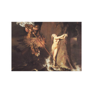 Roger Freeing Angelica Canvas Print