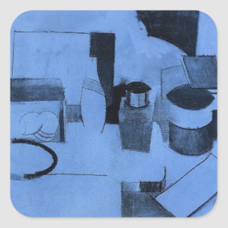 Roger Fresnaye-StillLife,Tin of Tea,Pot of Tobacco Sticker