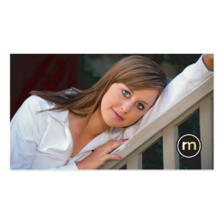 Roger Mathis Photography Business Card, Seniors Business Card