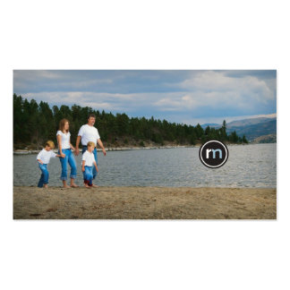 Roger Mathis Photography, Family Card Business Card