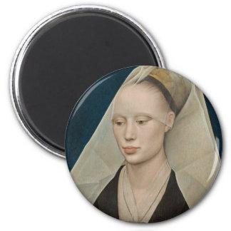 Roger Weyden Painting Refrigerator Magnets
