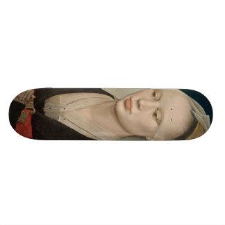 Roger Weyden Painting Skateboard