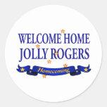 Rogers alegre casero agradable etiquetas