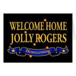 Rogers alegre casero agradable tarjetas