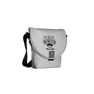 Rogers Coat of Arms Courier Bag