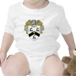 Rogers Coat of Arms (Mantled) Baby Bodysuit