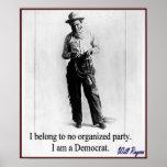 """""""Rogers - Demócrata """" Posters"""