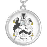 Rogers Family Crest Custom Necklace