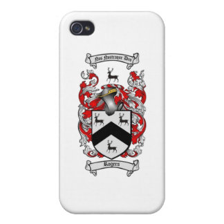 ROGERS Family Crest iPhone 4 Case
