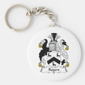 Rogers Family Crest Keychains