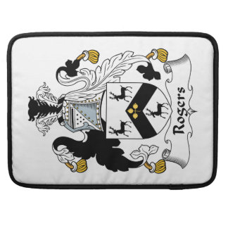 Rogers Family Crest Sleeves For MacBook Pro