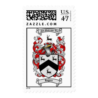 Rogers Family Crest Stamp with Matching Cards