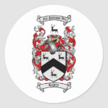 ROGERS Family Crest Sticker