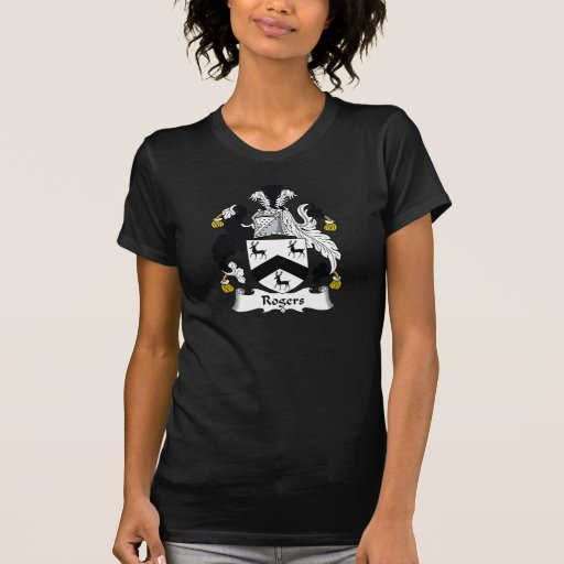 Rogers Family Crest Tshirts