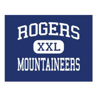 Rogers - Mountaineers - High - Rogers Arkansas Postcard