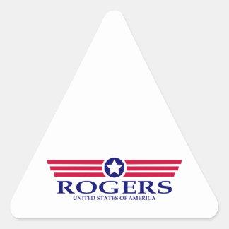 Rogers Pride Triangle Sticker
