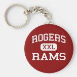 Rogers - Rams - Rogers High School - Toledo Ohio Key Chain