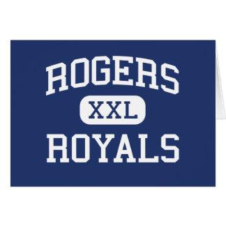 Rogers - Royals - mayor - Rogers Minnesota Tarjeta De Felicitación