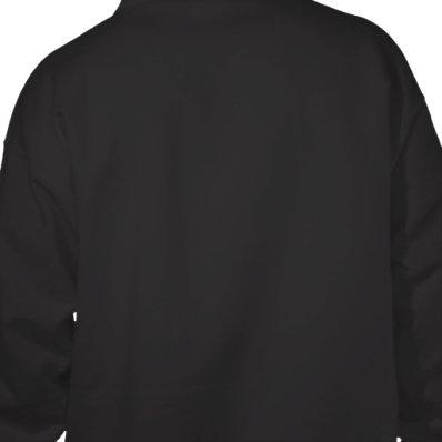 Rogest Men's Black Hoodie Sweatshirt