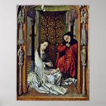 Rogier van der Weyden - Birth of Christ Posters
