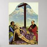 Rogier van der Weyden - Lamentation fragment Posters