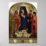 Rogier van der Weyden - Madonna with Saints Poster