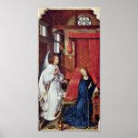 Rogier van der Weyden - The Annunciation Print