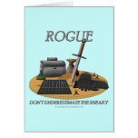 Rogue: Don't Underestimate the Sneaky Greeting Cards