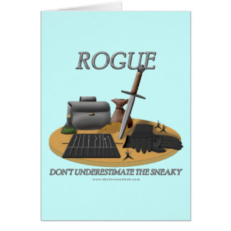 Rogue: Don't Underestimate the Sneaky Greeting Card
