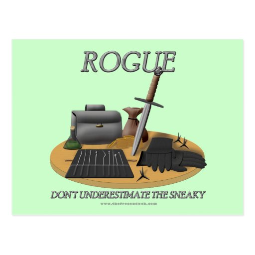 Rogue: Don't Underestimate the Sneaky Postcard