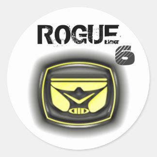 rogue head sticker