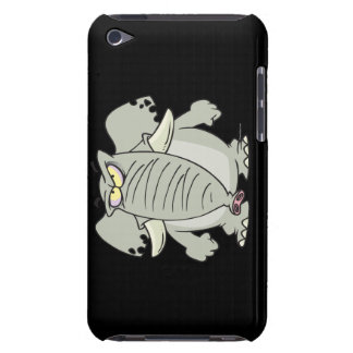 rogue mad angry elephant cartoon iPod Case-Mate case