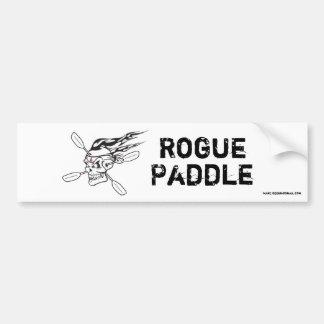 Rogue Paddle Bumper Sticker