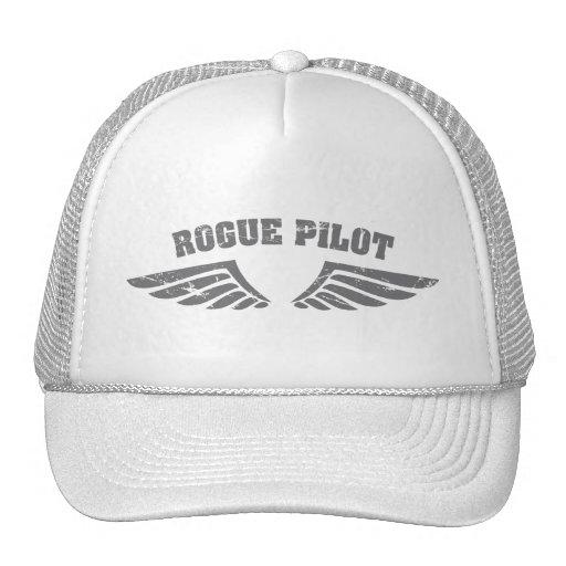 Rogue Pilot Wings Trucker Hat
