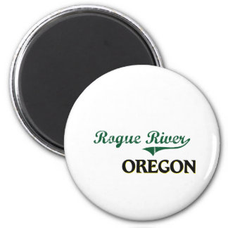 Rogue River Oregon Classic Design Magnet