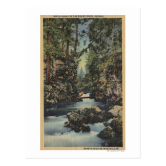 Rogue River, Oregon - Upper Gorge View of River Post Cards