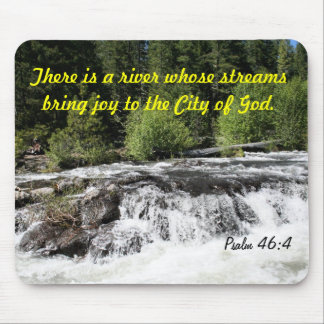 Rogue River - Psalm 46:4 Cards Mouse Pad