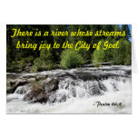 Rogue River - Psalm 46:4 Greeting Card