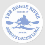 Rogue River (rd) Classic Round Sticker