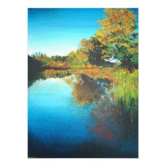 Rogue River Rockford Michigan acrylic print Photo Print