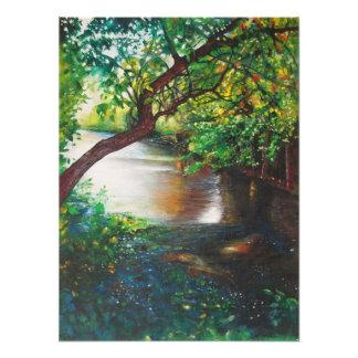 Rogue River Rockford Michigan print from acrylic Photograph