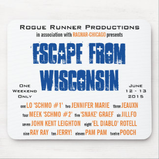 Rogue Runners - Chicago (mousepad) Mouse Pad