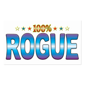 Rogue Star Tag v2 Business Cards