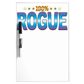 Rogue Star Tag v2 Dry Erase White Board